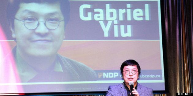 Gabriel Yiu, Vancouver-Fraserview NDP Candidate, Ready For BC Liberal