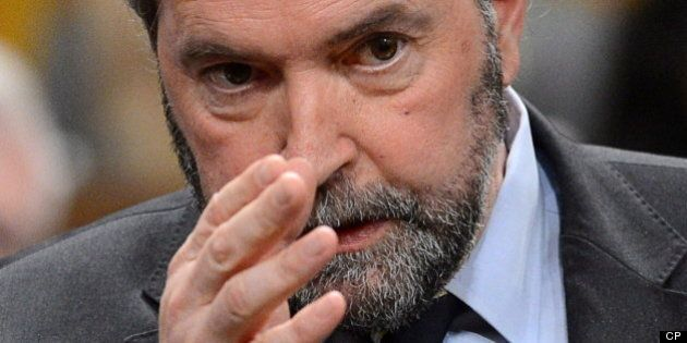 Tory Line On PMO Fund 'Doesn't Wash,' Mulcair