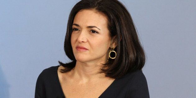 PALO ALTO, CA - AUGUST 02: Facebook COO Sheryl Sandberg looks on during the President's Council on Jobs...