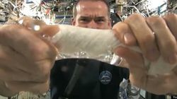 WATCH: Chris Hadfield's INSANE Water