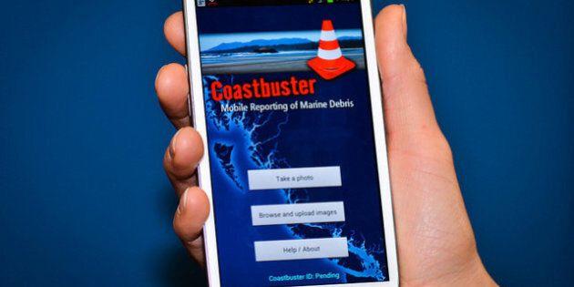 Tsunami Debris Smartphone App