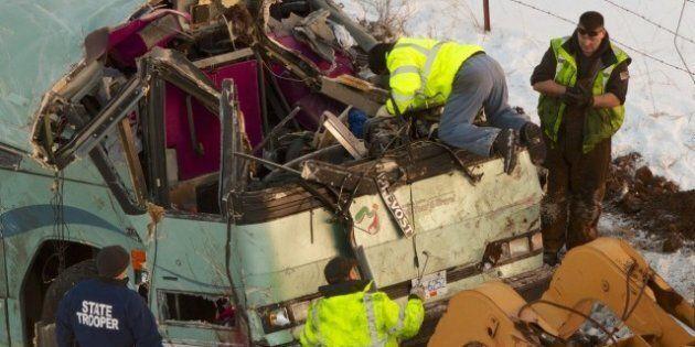 Oregon Bus Crash: Black Ice Blamed For Fatal Crash That Killed