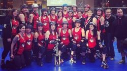 LOOK: Canadian National Roller Derby Championships? It's A