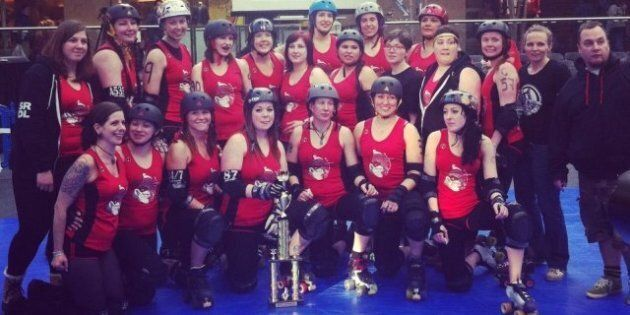 Saskatoon's MindFox Take First Roller Derby National Championship Title In Edmonton