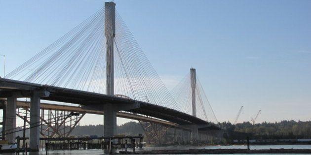 Port Mann Bridge Opens To 8 Lanes Of