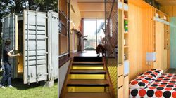 LOOK: Shipping Containers As