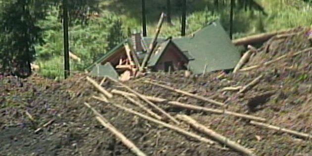 Johnson's Landing Landslide Homes
