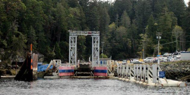 Gabriola Island Ferry Terminal Accident Sends Car Into