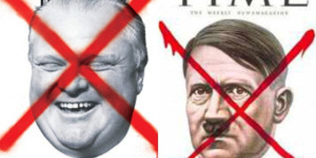 Rob Ford Now Cover Too Similar To Time's Hitler