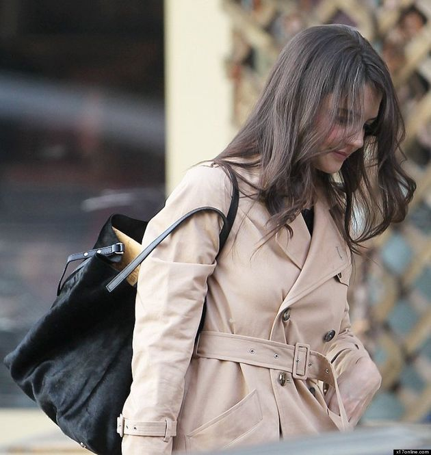 Katie Holmes' Hair Is Going Grey!