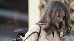 LOOK: Katie Holmes Forgets To Go To