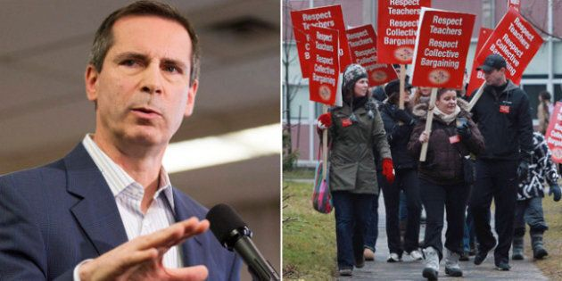 Ontario Teachers Strike Illegal, Labour Relations Board Rules Just Hours Before