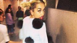 LOOK: Rita Ora Wears Pom