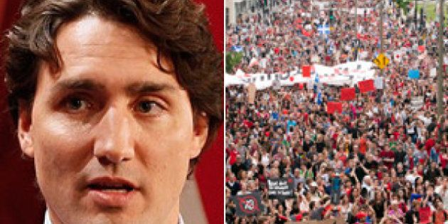 Trudeau's McGill Visit: Grit Hopeful Opposes Free