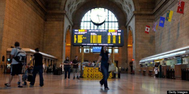 July 26, 2009 - Via Rail trains started rolling again after a short-lived strike that left travellers...