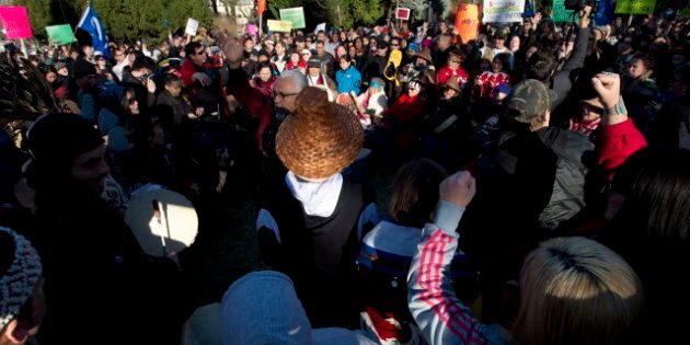Idle No More Protesters Hit Streets Of