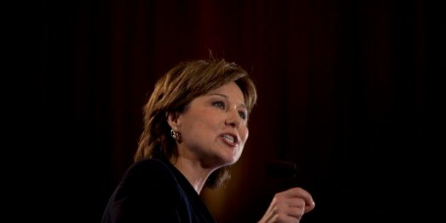 BC Election 2013: Christy Clark Begins Selling Budget To