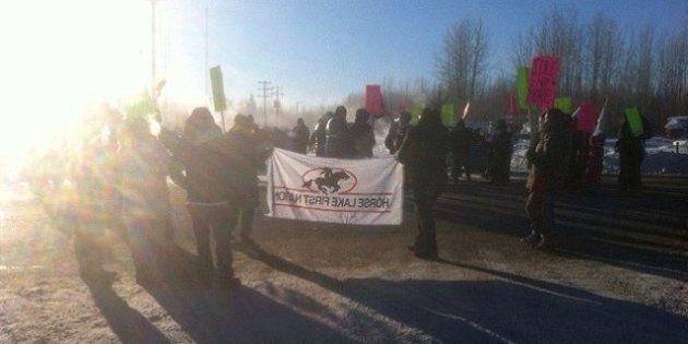 Idle No More: Highway 43 Temporary Blockade By Sturgeon Lake Cree Nation
