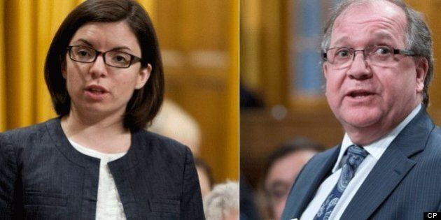 Bernard Valcourt, Aboriginal Affairs Minister, Sorry For Telling Niki Ashton To Listen To Her