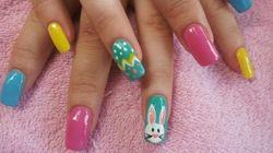 LOOK: Cute Easter Nail