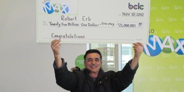 Lotto Winner Spreads Wealth Around Terrace,