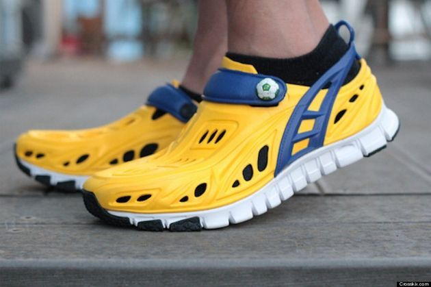 Crosskix Running Shoes Just Like Crocs: Kickstarter Campaign Launched