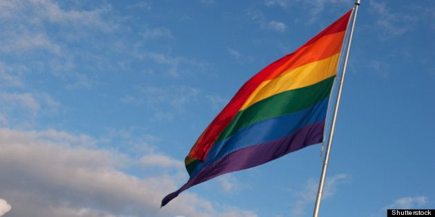 huge rainbow gay pride
