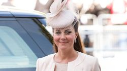 Kate Middleton's Blue Outfit A Clue To Baby's