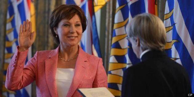 Christy Clark, Cabinet Sworn In At