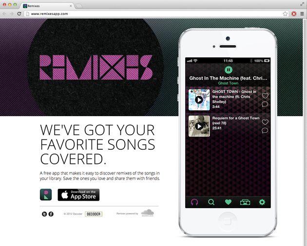 Calgary-Built Phone App, Remixes, Will Enhance Your Digital Music