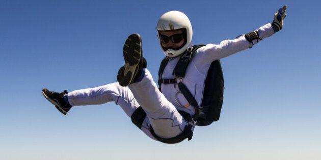 skydiving