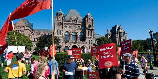 Ontario Teachers Strikes Planned For