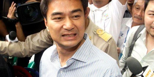Abhisit Vejjajiva, Former Thailand Prime Minister, Faces Murder Charge Over Violent Suppression Of 2010