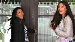 Kim Kardashian Cools Off In Maxi