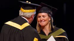Hayley Wickenheiser Graduates, 17 Years