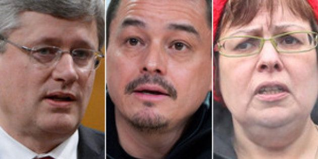 Harper's First Nations Meeting Was Only Round