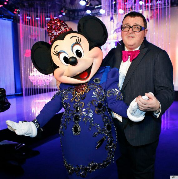 Minnie Mouse In Lanvin: Disney Character Gets Mature Makeover At Disnleyland Paris