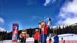 LOOK: NFL Mascots Hit The Slopes Of Lake