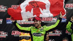 Canada's Hinchcliffe Drives To
