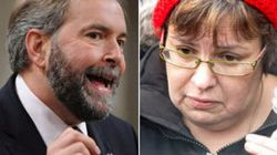 Mulcair To Spence: End Hunger
