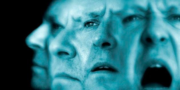 Schizophrenia, conceptual image.
