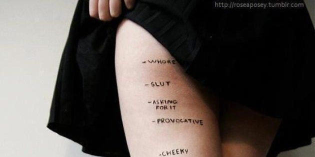 'Judgments' Photo Rosea Lake: Artist's Project On Skirt Lengths Goes Viral