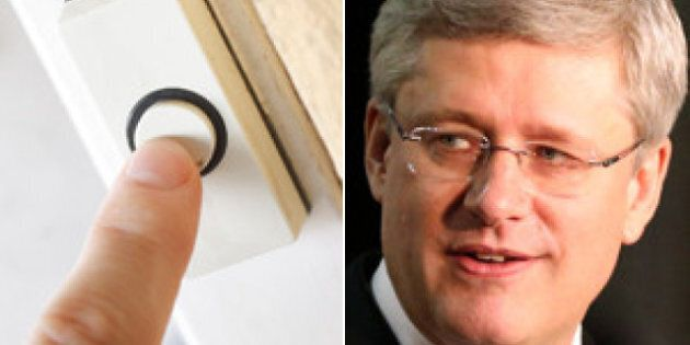 Harper: EI House Calls Necessary To Stop
