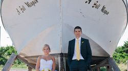 Seaside Nuptials With A Nautical Theme In