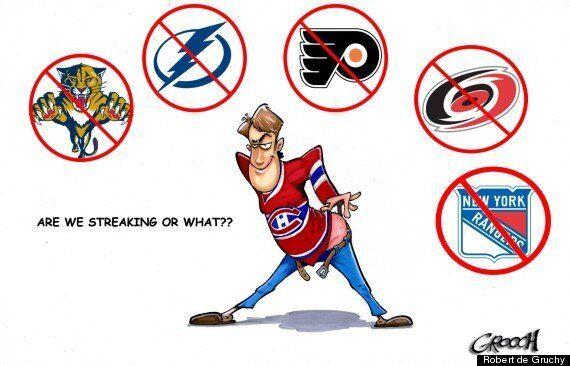 Montreal Canadiens Streaking