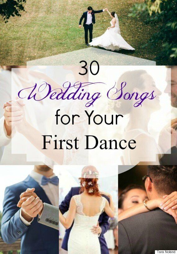 Wedding Songs: 30 Awesome First Dance Tracks For The Bride And