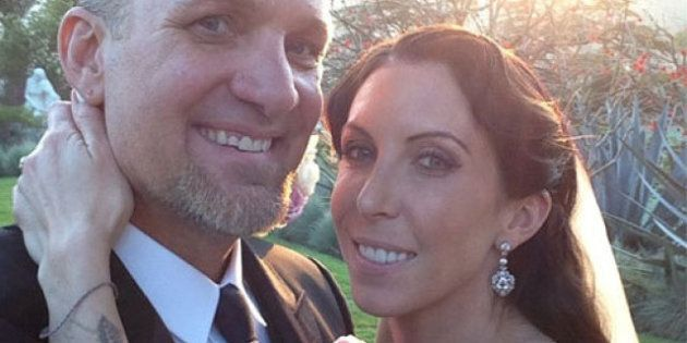 Jesse James Shares Wedding Photo: Alexis DeJoria Shows Off Earring Bling