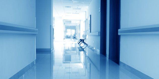 corridor in the hospital....
