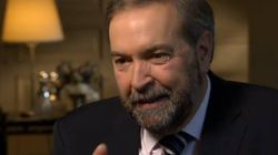 WATCH: What Mulcair Really Thinks About Harper And