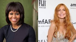 Michelle Obama And Lindsay Lohan Are